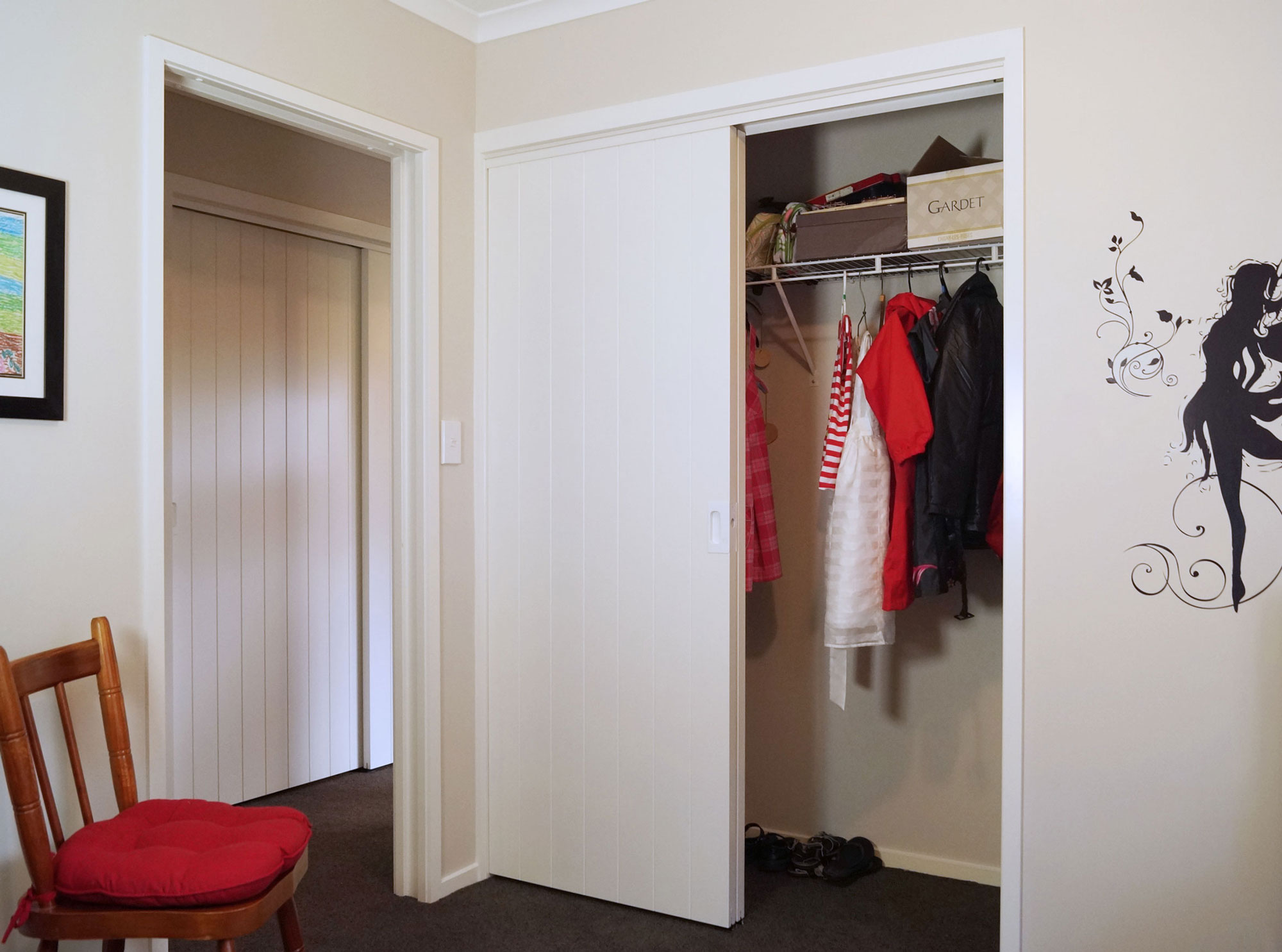 louvered closet doors lowes