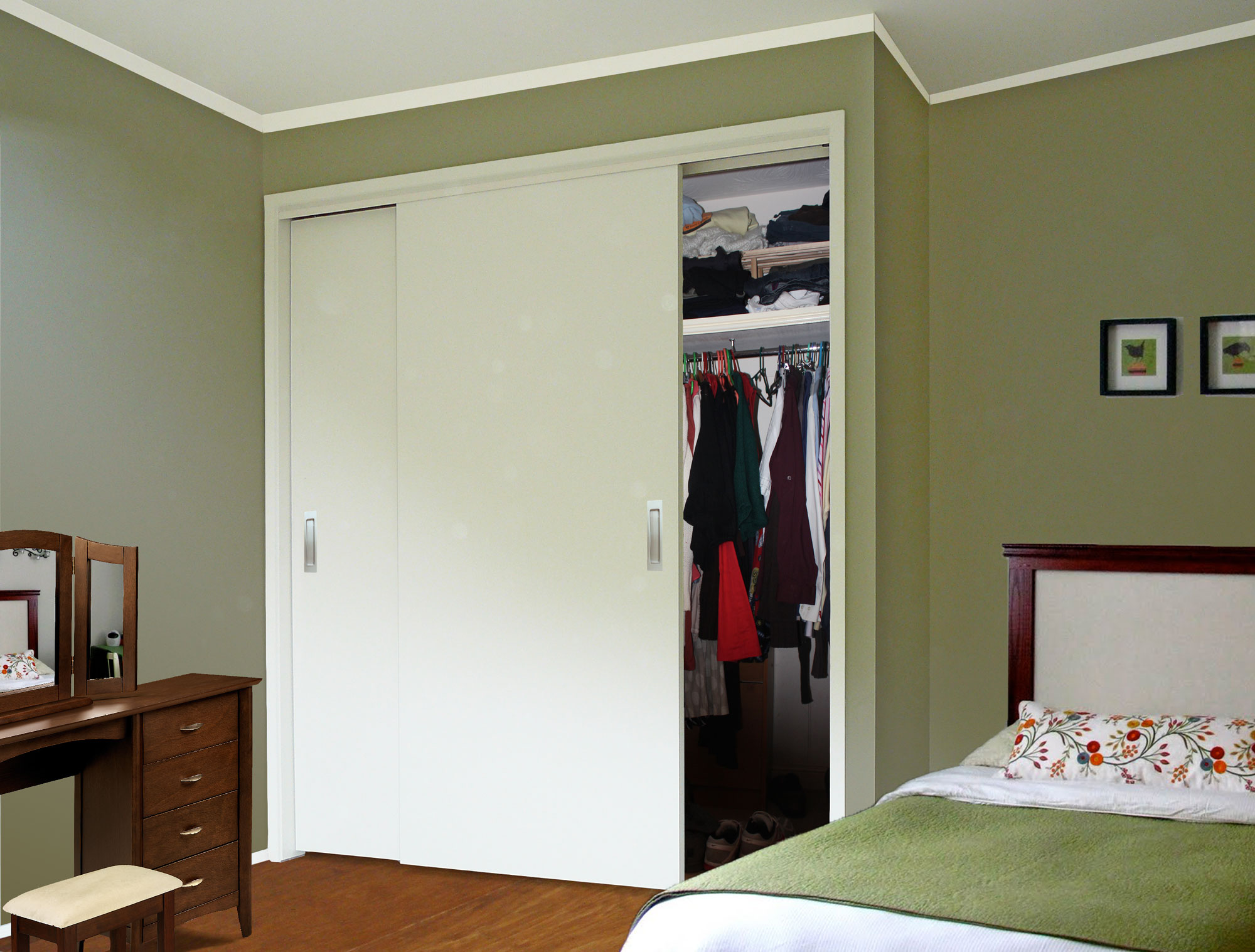 TopFix 2 Door Wardrobe Slider