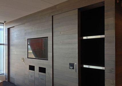 Doors for Koru Lounge